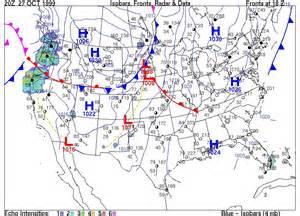 us surface map forecast surface weather maps exercise
