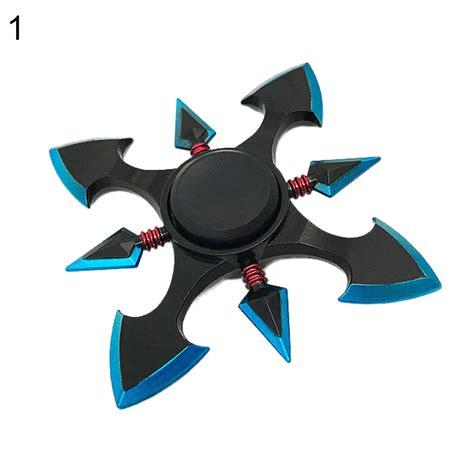 Spinner Alumunium 3 Bola Chrystal metal dart axe spinner adhd autism stress reducer fidget edc best ebay