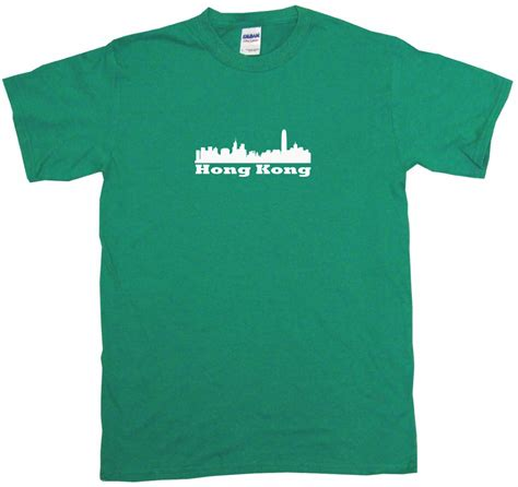 1535 T Shirt Hk All Colour 6 hong kong china city skyline silhouette mens shirt size color small 6xl ebay