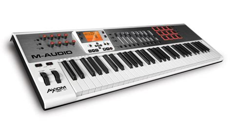 Keyboard Controller m audio axiom air keyboard and pad controllers