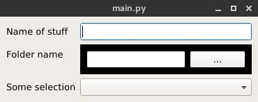 qlayout insert widget python qt how to make custom widget that aligns like