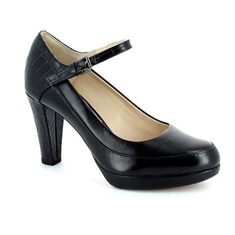 clarks shoes high heels clarks kendra dime black high heeled shoes