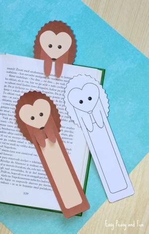 hedgehog bookmarks evening routine printable for kids