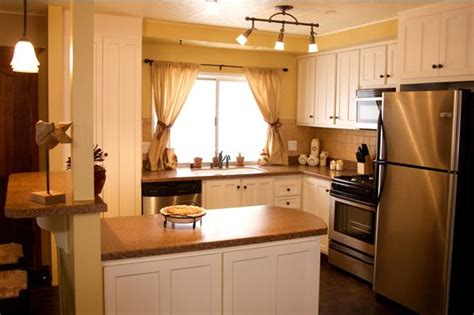 mobile home kitchen design ideas 25 great mobile home room ideas