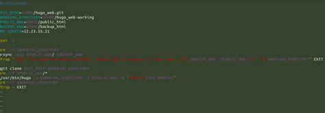 git tutorial on ubuntu deploy a hugo site to production with git hooks on ubuntu