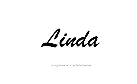 linda name tattoo designs