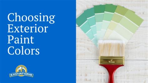 how do i choose exterior paint colors for my home home remodeling
