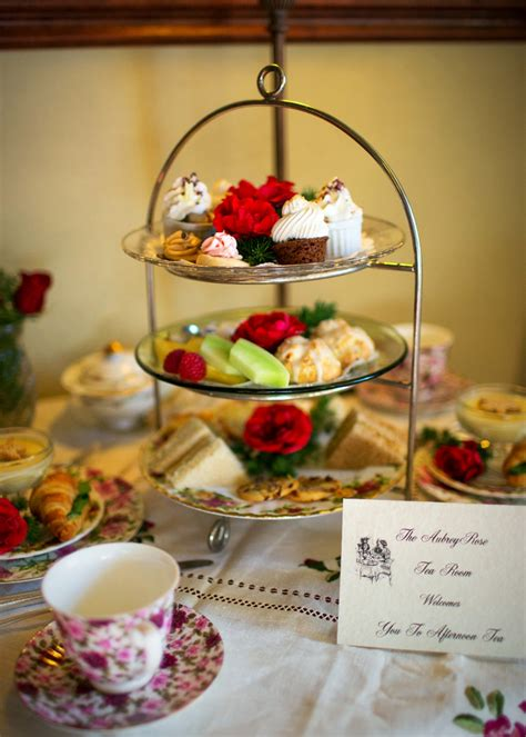 white tea room afternoon tea and events the aubreyrose tea room