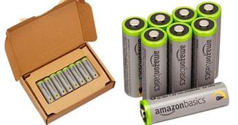 Batterie Amazonbasics by Amazonbasics Aa High Capacity Rechargeable Batteries 8 Pack Only 15 99 Shipped Hip2save