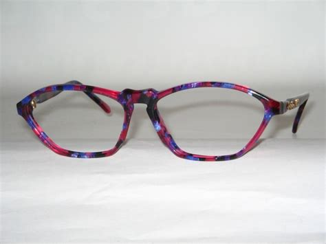 auth zeiss eyeglasses frame mod 4727 pink and purple