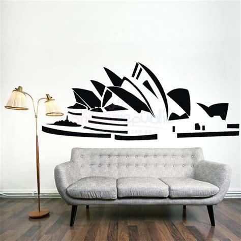 wall stickers sydney sydney opera house wall sticker