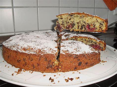 kuchen mit schokolade kirschli kuchen mit schokolade rezept mit bild