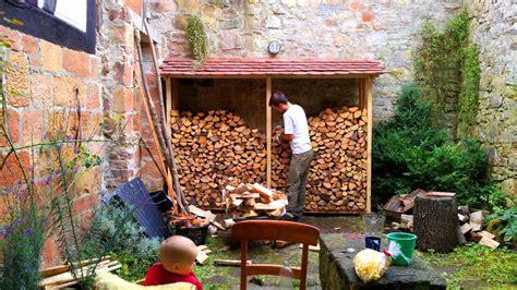 holz stapeln - Gestell Zum Holzstapeln