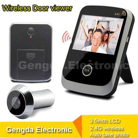 Door Peephole Wifi by Easy To Use 2 4g Wireless Digital Door Peephole Viewer 1000pcs Photo Taking Door Peephole