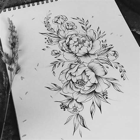25 best peonies tattoo ideas on pinterest