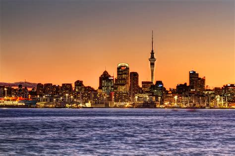 sky tower tower  auckland thousand wonders