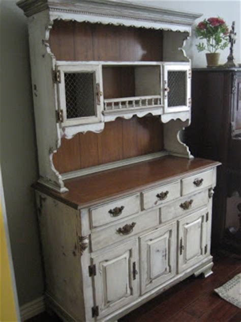 european paint finishes charming shabby chic hutch