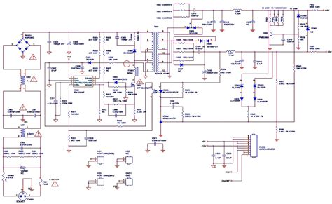 lcd inverter schematic lcd inverter circuit diagram