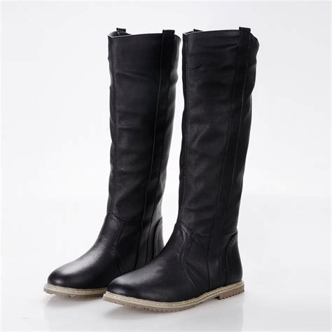 fashion boots size 34 43 2016 new fashion boots flat boots knee