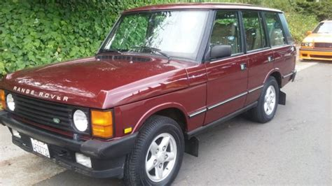 how to work on cars 1994 land rover range rover electronic toll collection 1994 land rover range rover county classic w working eas 3 9l short wheelbase for sale in san
