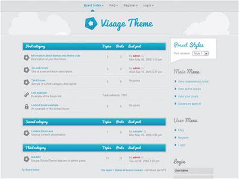 php forum templates free download images templates
