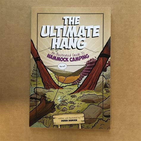 the ultimate hang hammock cing illustrated books the ultimate hang book warbonnet outdoors
