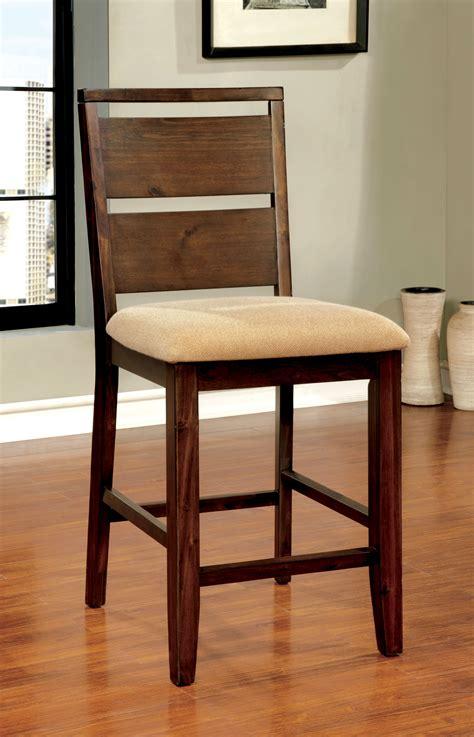 furniture of america oak 22 75 inch counter