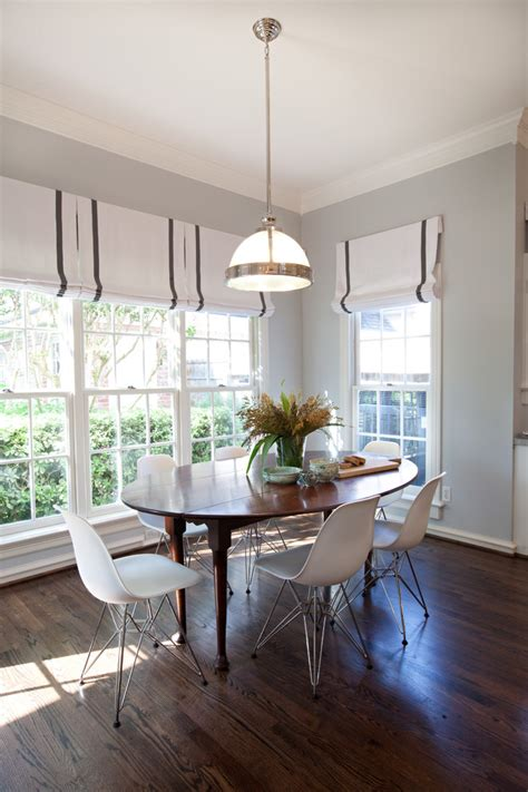 levolor shades dining room contemporary with