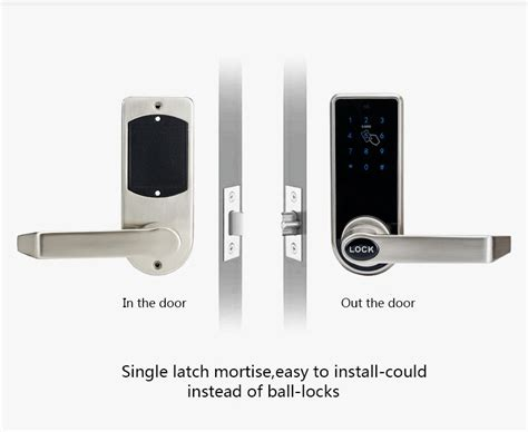 L S Gagang Pintu Rumah Elektrik Touchsreen Digital Door Lock l s gagang pintu rumah elektrik touchsreen digital door lock smart home silver