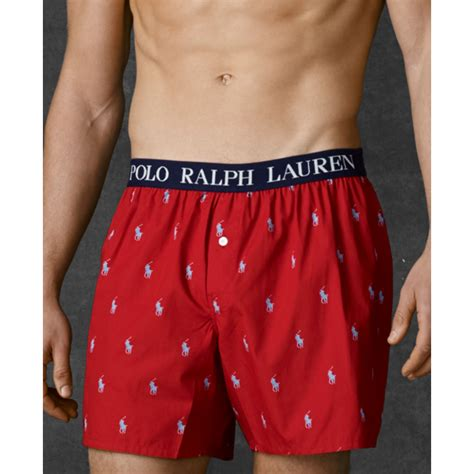 ralph polo mens polo player boxer shorts in for
