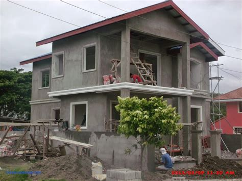 simple double storey house design simple two story house design