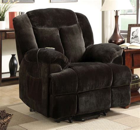 Coaster Power Lift Recliner by Coaster 600173 Power Lift Recliner Chocolate 600173 At