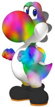 rainbow yoshi silverbuller deviantart