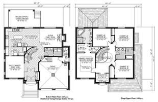 plan duplex 3d americain studio design gallery