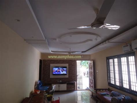 design lu ceiling false ceiling design for living room with two fans