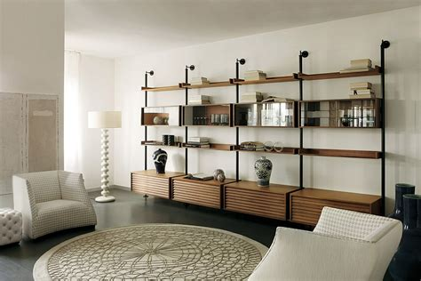 living room shelving systems stunning minimalist living room wall unit systems italian