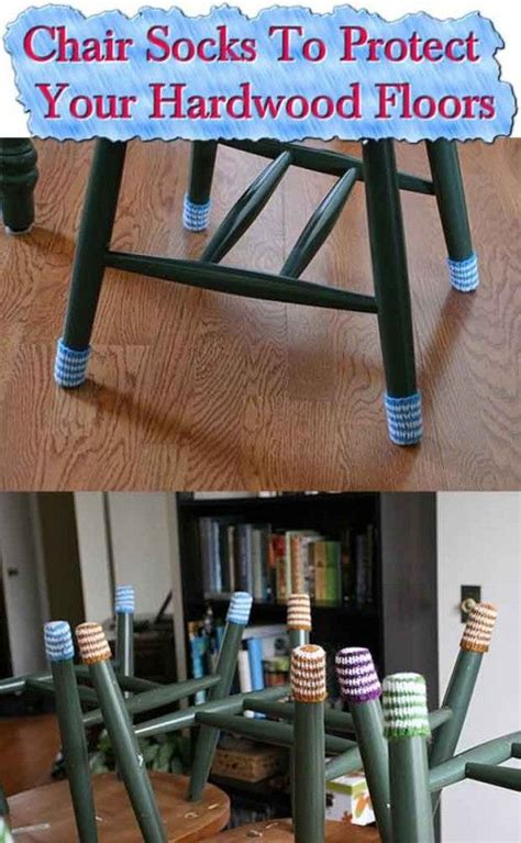 Socks For Wood Floors by Chair Socks To Protect Your Hardwood Floors Crafts
