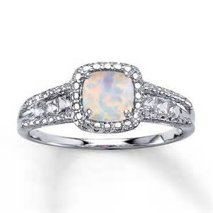 Opel Ring Lab Created Opal Ring Lab Created Sapphires Sterling
