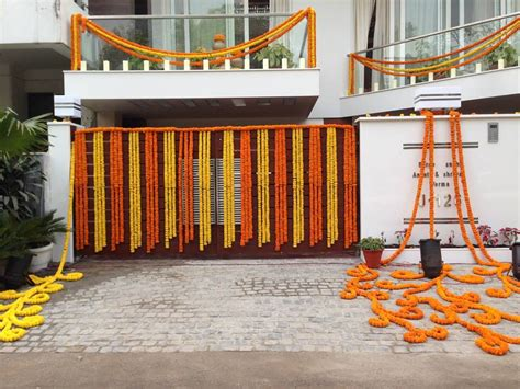 flower decoration in home home main gate pk pinterest gate decoration and wedding