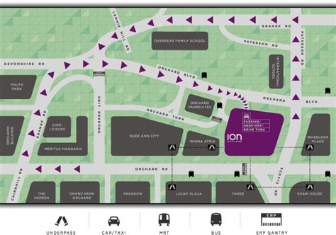 orchard mall map ion orchard about us