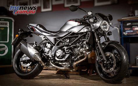 Suzuki Motorrad A by Suzuki Sv650x 75hp Retro Cafe Racer Mcnews Au