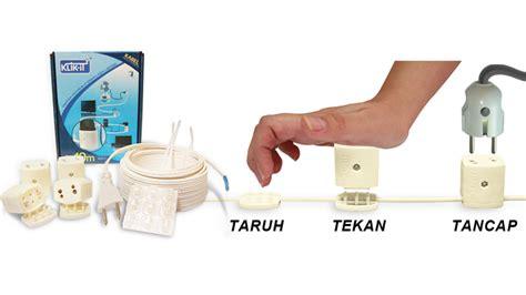 Stopkontak Colokan Listrik Panjang Kabel 3 Meter Jumlah Colokan 4 suplai listrik hemat rapi dan praktis dunia spasi
