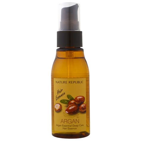 picture of hair essence nature republic argan essential deep care hair essence