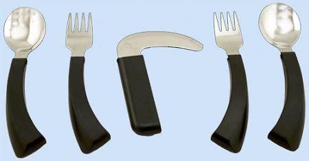 amefa curved built  handle utensils curved handle