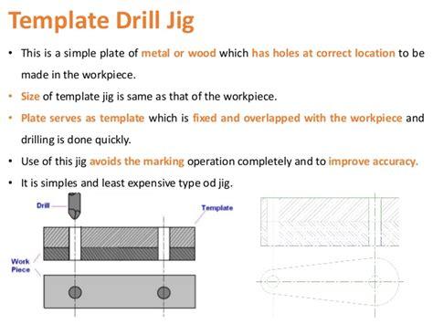 template jig drill jig