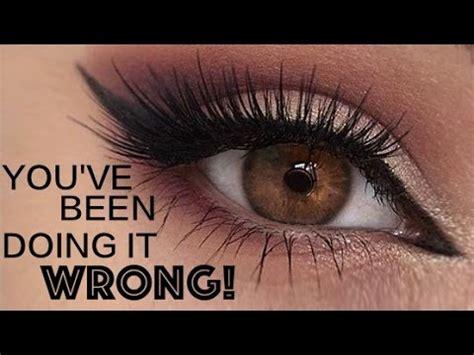 applying false lashes    top eye lashes