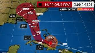 hurricane irma hit date irma will strengthen to a category 5 when it hits florida