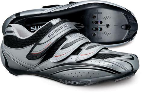 road bike shoes clearance shimano r077 spd sl road bike cycling shoe 50 silver