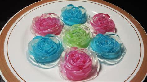 Gelas Puding Kaca resep membuat pudding kaca mawar warna warni