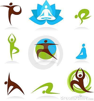 imagenes zen vectorizadas collection of yoga people logos vector icons imagenes